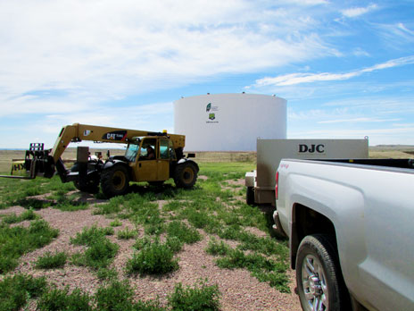 storage tank maintenance